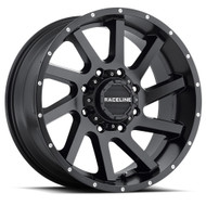 Raceline Twist Black Wheels Rims 20x12 Blank -44 | 932B-21200-44(6P)