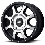 Moto Metal MO970 Black Wheels Rims 17x8 5x160 42 | MO97078016342