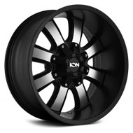 Ion 189 Wheels Rims 18x10 Black Machined 8x6.5 (8x165.1) 8x170 -19mm | 189-8176B | Free Shipping!