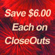 See Our Closeout Specials