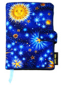 Star Gazer Fabric Book Cover (Closeout Seconds)