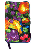 Tutti Frutti Fabric Book Cover Closeout $6 Off