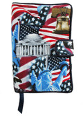 Stars & Stripes Cloth Book Cover
