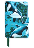 Sealife II Fabric Book Cover Design