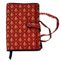 Tapestry Satin Fleur-di-lis Bible/Hardback Cover