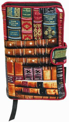 What better way to protect your reading privacy than to wrap your book in a book cover covered with books. As you can clearly see, this book cover is our book lover's book cover.