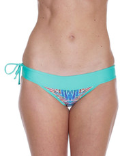 La Lancha Mint/Rainbow Batik Bottom