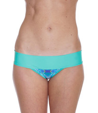 Moorea Mint/Rainbow Batik Bottom