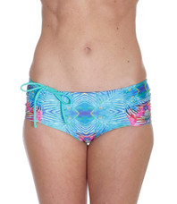 Catalina Mint/Rainbow Batik Bottom
