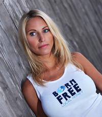 Born Free 2x1 Tank - White