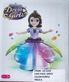 DANCE GIRL SPINNING TOY LIGHTS