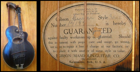 1931 Gibson Harp Guitar
