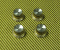 Gold Bell Knobs with Reflector Caps