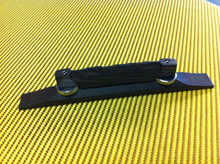 Ebony Compensated Archtop Guitar Bridge