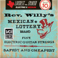 Billy Gibbons Rev. Willy's Mexican Lottery Guitar Strings