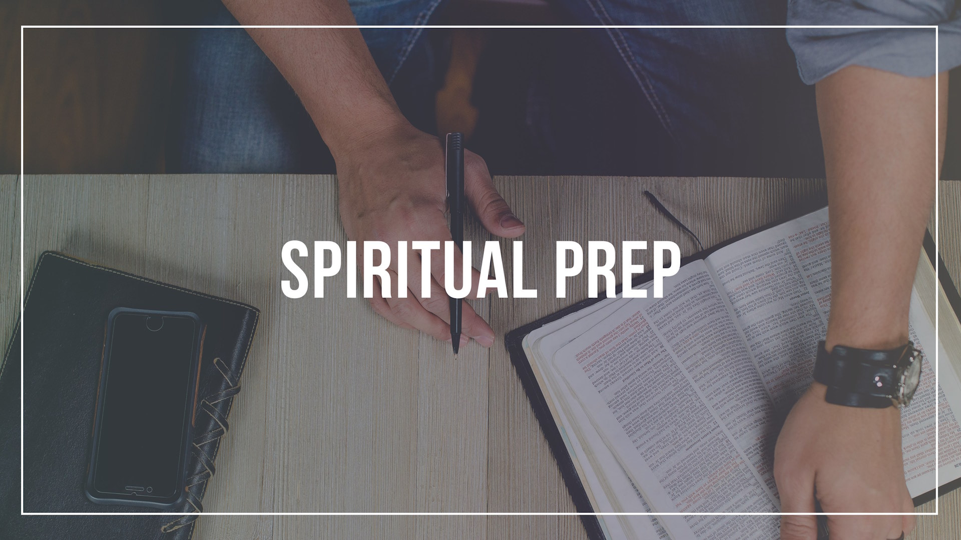 prepare spiritually before your mission trip