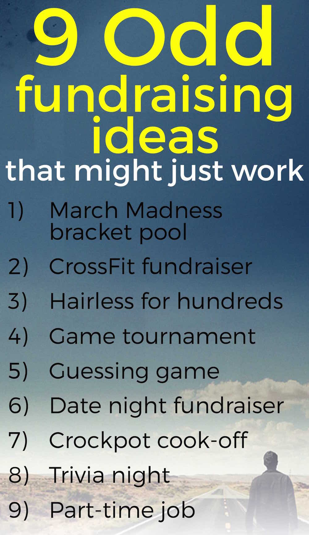 9 odd fundraising ideas that might just work