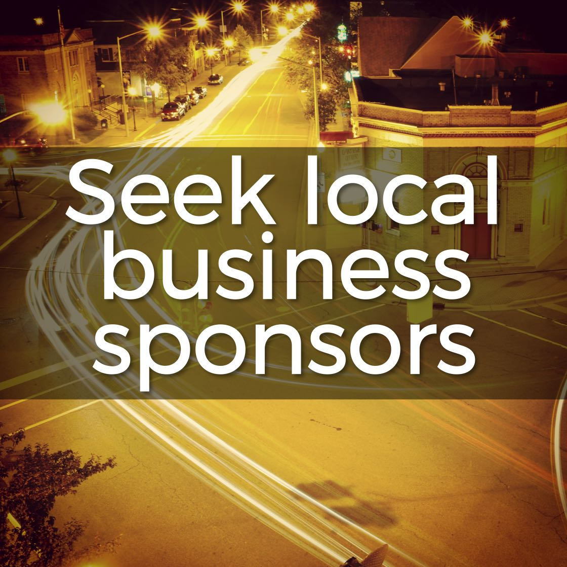 Here's how to find local business sponsors to help support your mission trip
