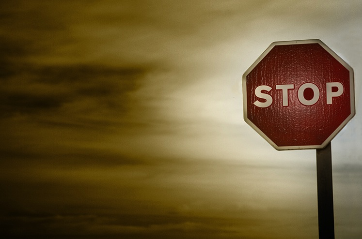 Stop! But this time it's not in the name of love.