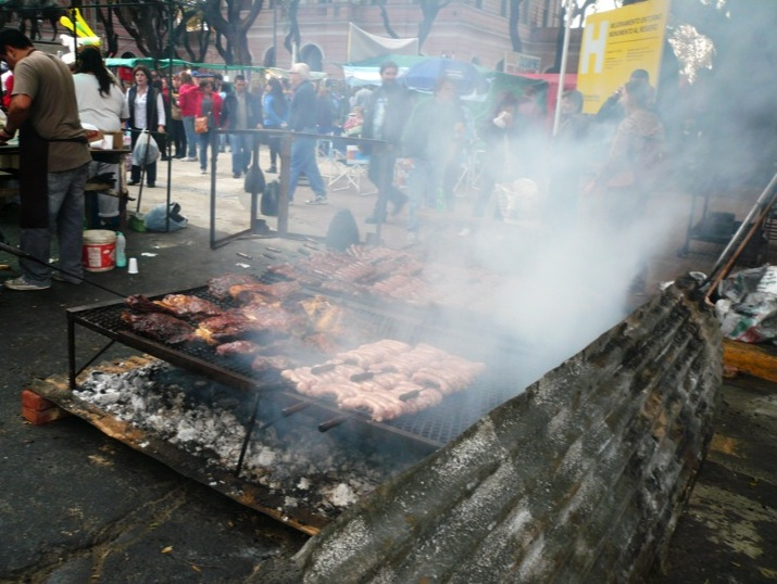 Street food in Argentina