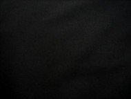 "BLACK POLY COTTON SHEETING FABRIC 94"" X 20 METRES"