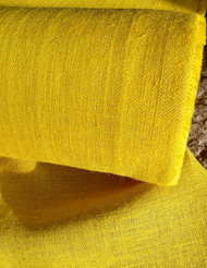 YELLOW HESSIAN FABRIC 10oz 100CM X 50MTRS