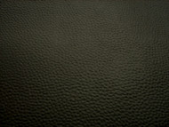 BLACK GRAINED UPHOLSTERY LEATHER VINYL FABRIC  x 25 METRES