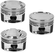 Manley 94mm Stroker 86.5mm +0.5mm Bore 9.0:1 Dish Piston Set with Rings Mitsubishi Evolution 2008-2014