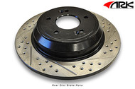 ARK Slotted and Drilled Brake Rotors REAR (Std Calipers) Genesis Coupe 2010+