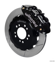 Wilwood Big Brake Kit Forged Narrow Superlite 6 Piston 12.88in Slotted FRONT BLACK Ford Focus ST 2013-2018