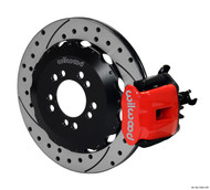 Wilwood Big Brake Kit Combination Parking Brake Caliper Slotted/Drilled REAR RED Ford Focus ST 2013+