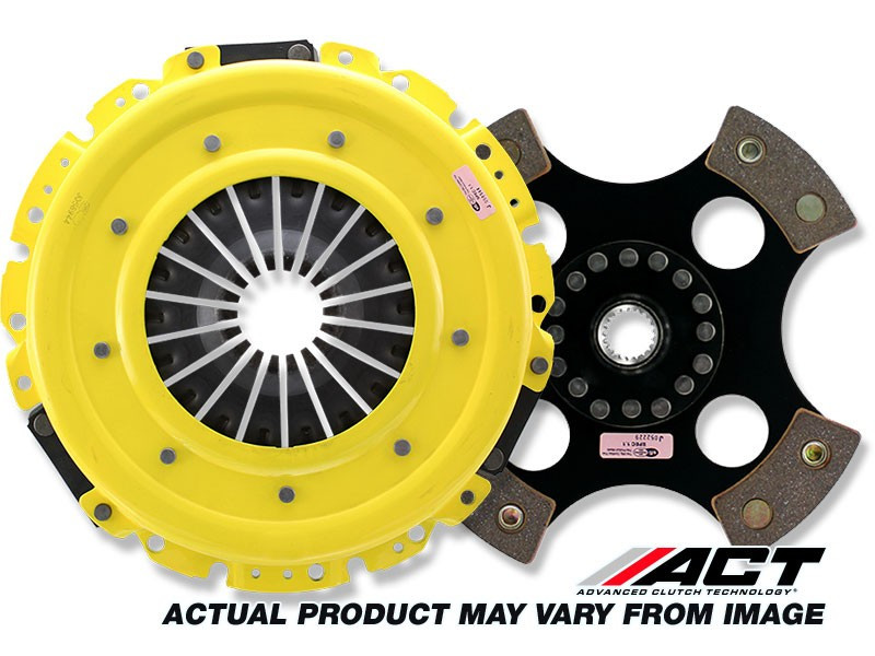ACT Clutch Kit Heavy Duty PP 4 Puck Disc Solid Subaru 1 8L