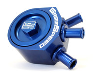 GrimmSpeed Air Oil Separator BLUE Subaru WRX 2008-2014 | Legacy GT 2005-2011