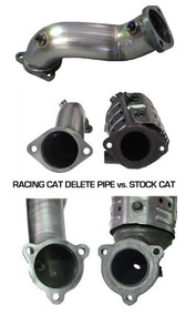 "ATP Turbo 3"" Racing Cat Delete Pipe Hyundai Genesis Coupe 2.0L 2010-2012"