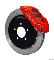 Wilwood Dynapro 6 Big Brake Kit FRONT Red w/ Slotted Rotors Mazda 3 2004-2013 / Mazdaspeed 3 2007-2013