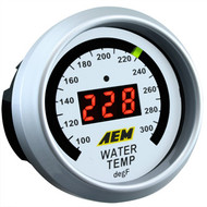 AEM Water Temperature Gauge 100-300F Digital