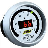 AEM Fuel Pressure Gauge 0-100psi Digital