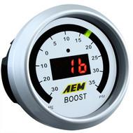 AEM Boost Pressure Gauge Digital 35psi