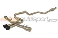 "cp-e Austenite 3"" Cat Back Exhaust Dual Exit Ford Focus ST 2013-2018"