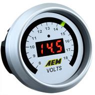 AEM Voltmeter Gauge Digital