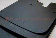 Rally Armor Basic Mud Flaps BLACK LOGO Subaru Impreza ALL MODELS 1993-2001