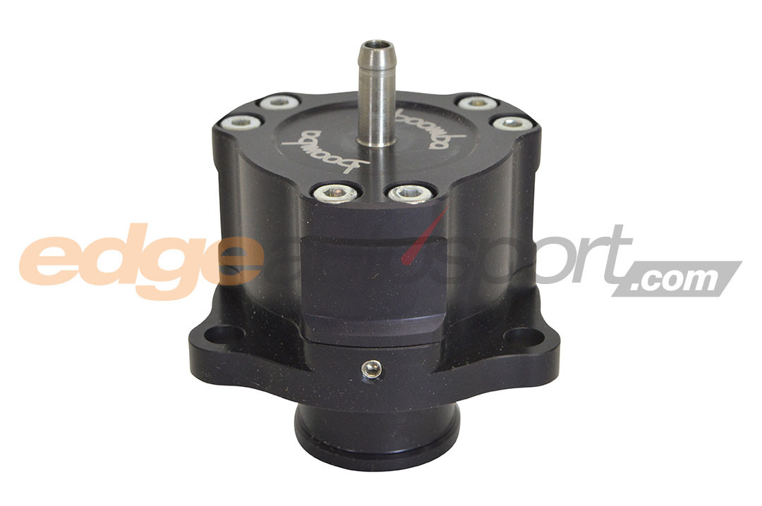 Boomba Racing Full Recirculating Bypass Valve BLACK Ford