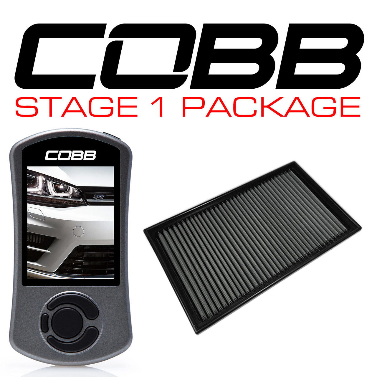 Cobb Tuning Stage 1 Power Package VW Golf R 2015-2017