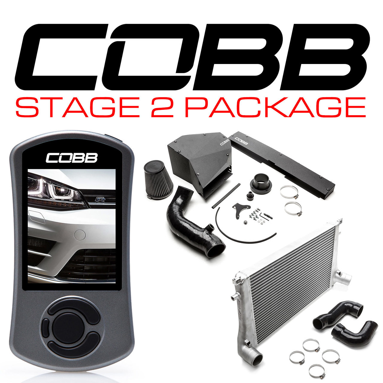 Cobb Tuning Stage 2 Power Package VW Golf R 2015-2017