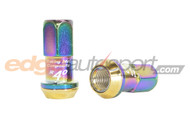 Project Kics R40 Open End Lug Nuts NEOCHROME 12x1.5
