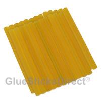 "GlueSticksDirect® Clear Hair Fusion Glue Sticks Mini X 4"" 24 Sticks"