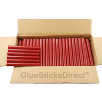 "Red Colored Glue Sticks 7/16"" X 4"" 5 lbs"