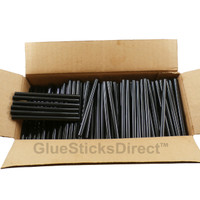 "Black Colored Glue Sticks 7/16"" X 4"" 5 lbs"