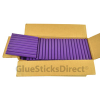 "Purple Colored Glue Sticks 7/16"" X 4"" 5 lbs"