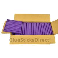"Purple Colored Glue Sticks 7/16"" X 4"" 5 lbs"